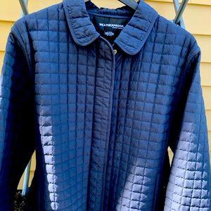Weatherproof women's jacket. Navy blue.